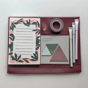 Maroon Travel Set