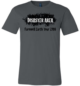 Disaster Area - Farewell Earth Tour 1980