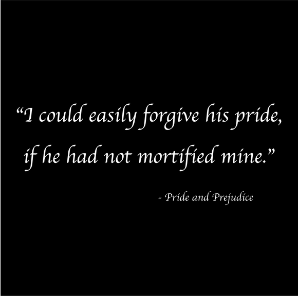 Mortified - Jane Austen - Pride & Prejudice