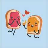 Peanut Butter & Jelly In Love T-Shirt