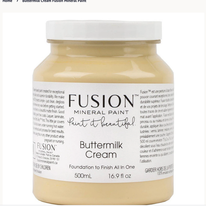 Buttermilk Cream- Fusion Mineral Paint