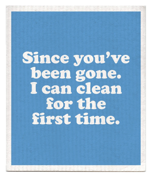 Since You've Been Gone Swedish Dish CLoth