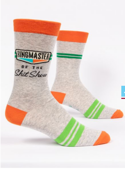 Ringmaster Of The Shitshow - Men's Crew Socks