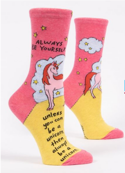 Always Be Yourself - Women's Crew Socks