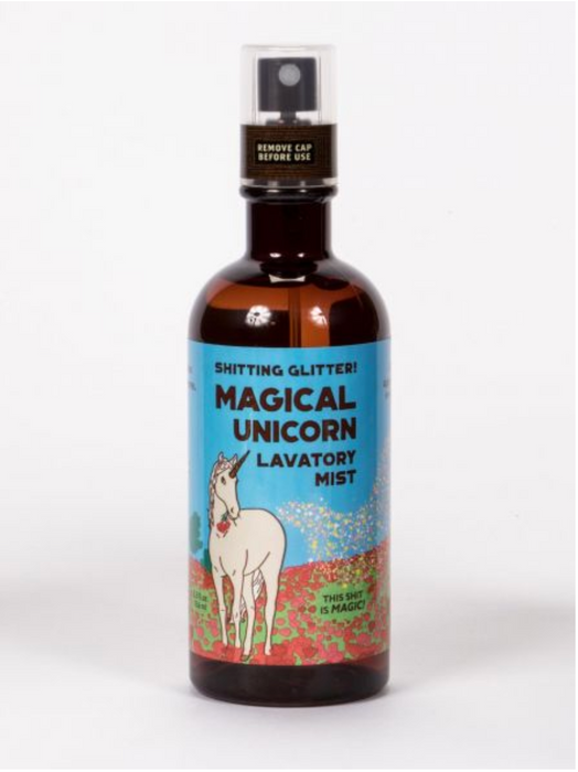 Shitting Glitter Magical Unicorn Lavatory Spray