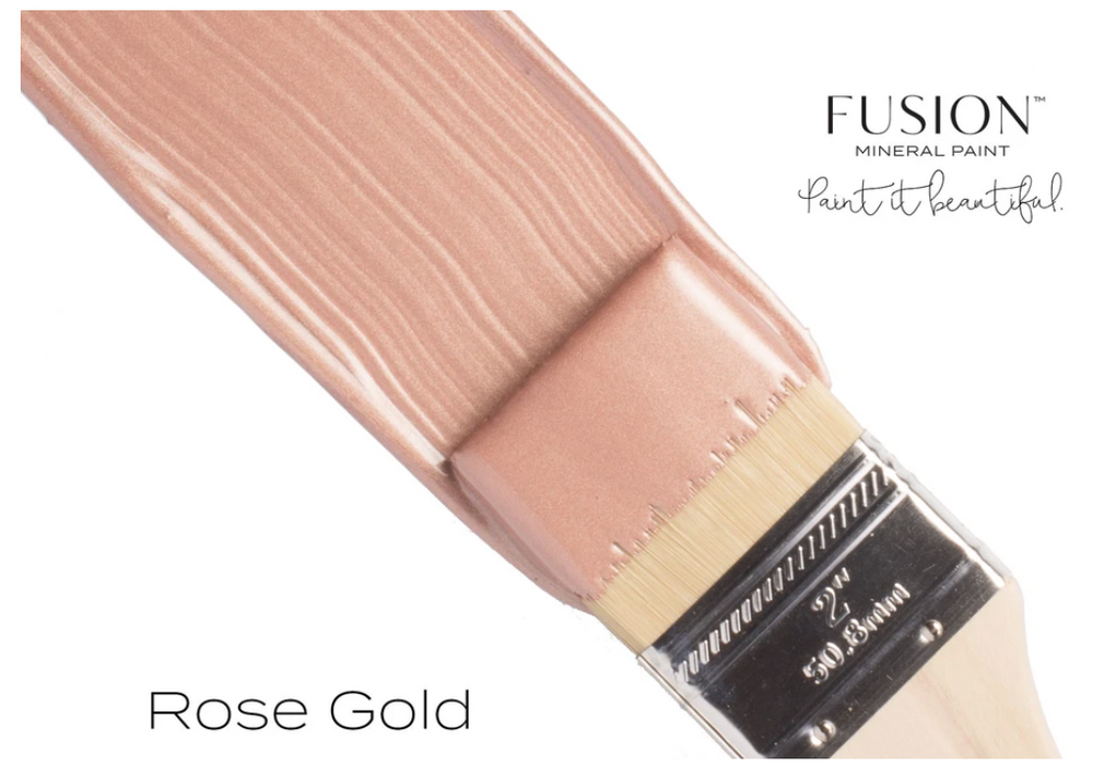 Rose Gold Metallic Paint