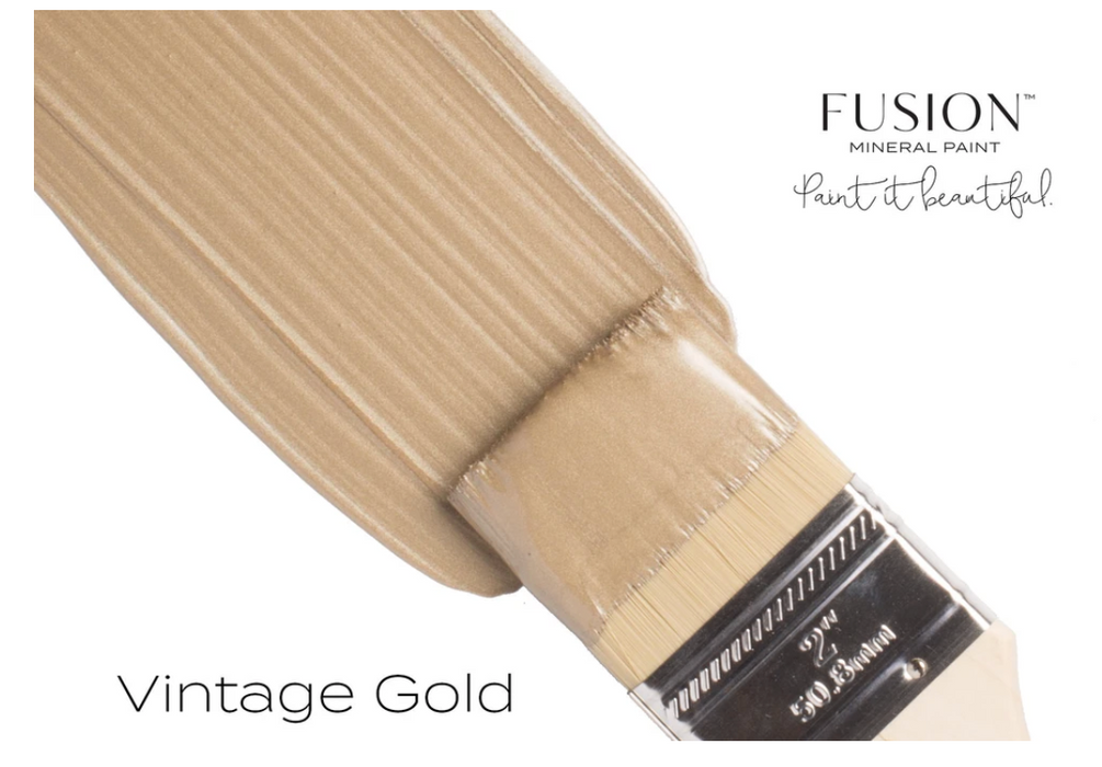 Vintage Gold Metallic Paint