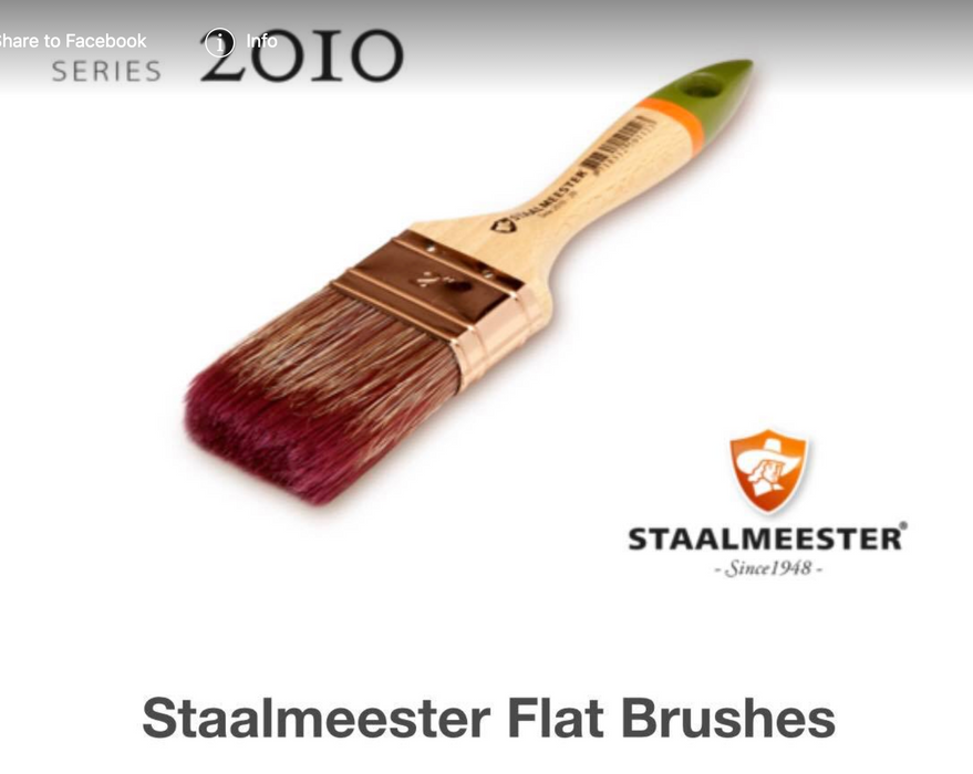 Staalmeester -2010 Series Brushes