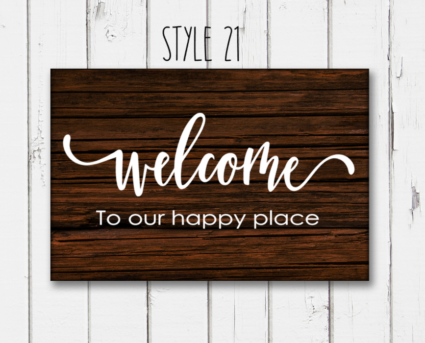 11x18 inch custom sign - Paint Kit to Go