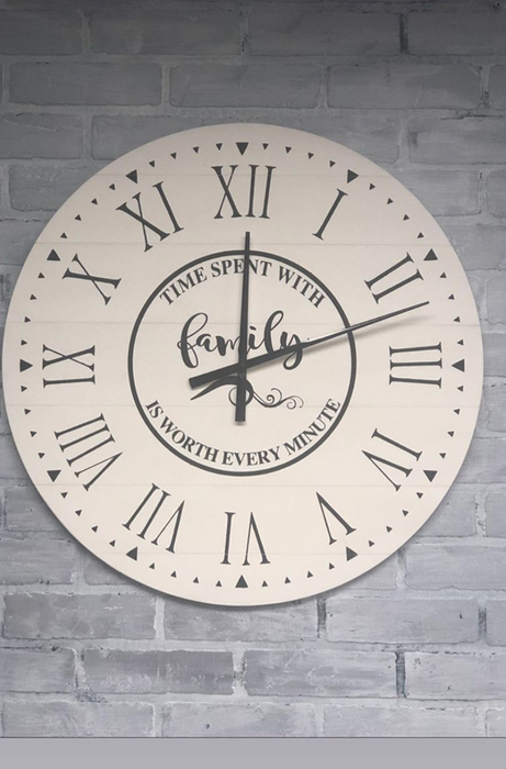 Farmhouse Clock