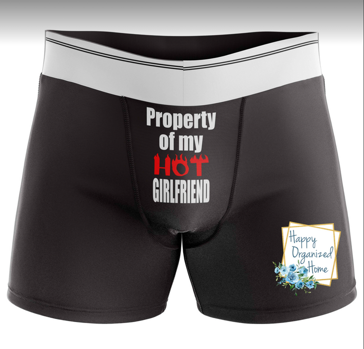 Naughty Knickers - Property of my hot girlfriend