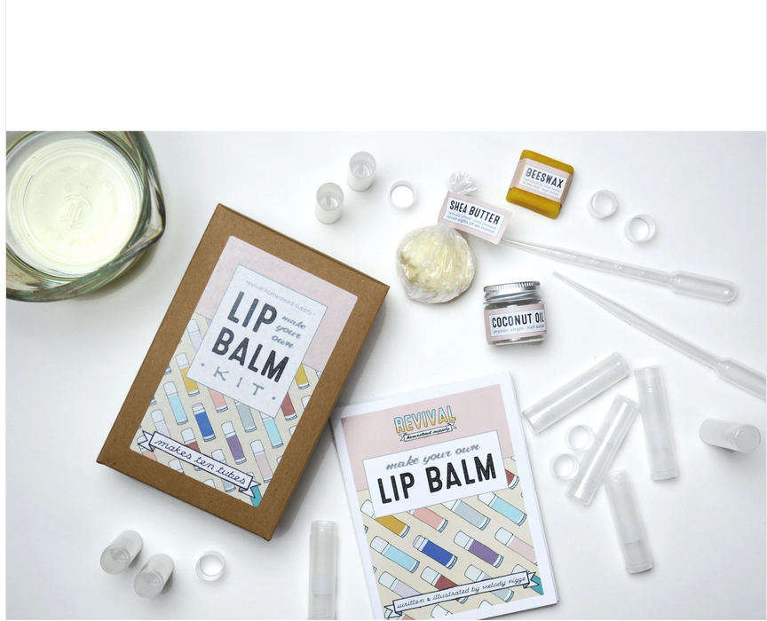 Make your own lip balm - Makes 10!