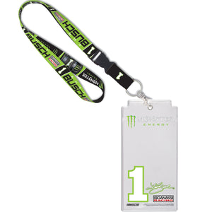 #1 Kurt Busch Credential Holder with Lanyard - kurtbusch