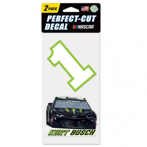 #1 Kurt Busch 2-Pk. Perfect-Cut Decal - kurtbusch