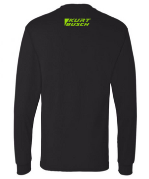 #1 Kurt Busch Black Unisex Long Sleeve - kurtbusch