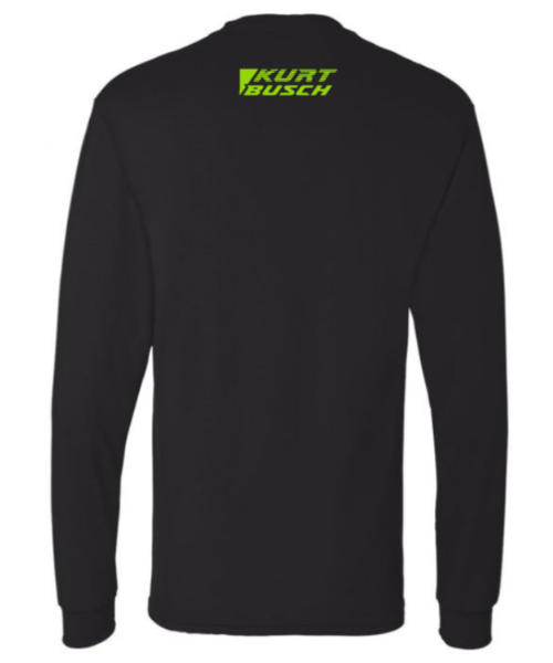 #1 Kurt Busch Black Unisex Long Sleeve