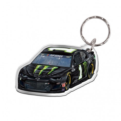#1 Kurt Busch Monster Energy Car Keychain - kurtbusch