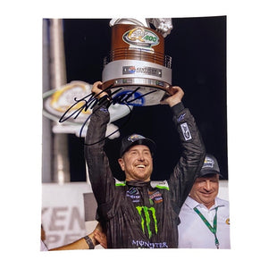 Autographed Kurt Busch Kentucky Victory Lane Authentic Photo - kurtbusch