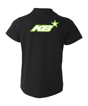 #1 Kurt Busch KB Black Youth Tee