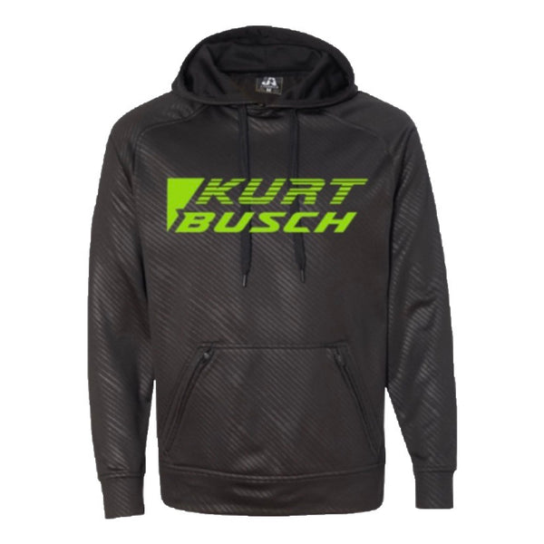 #1 Kurt Busch Black Volt Men's Hoodie (1 Large Left) - kurtbusch