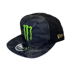 #41 Autographed Kurt Busch Monster Energy Daytona Victory Lane Hat 2017 - kurtbusch