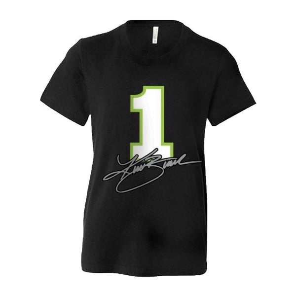#1 Kurt Busch KB Black Youth Tee (Only XL Left) - kurtbusch