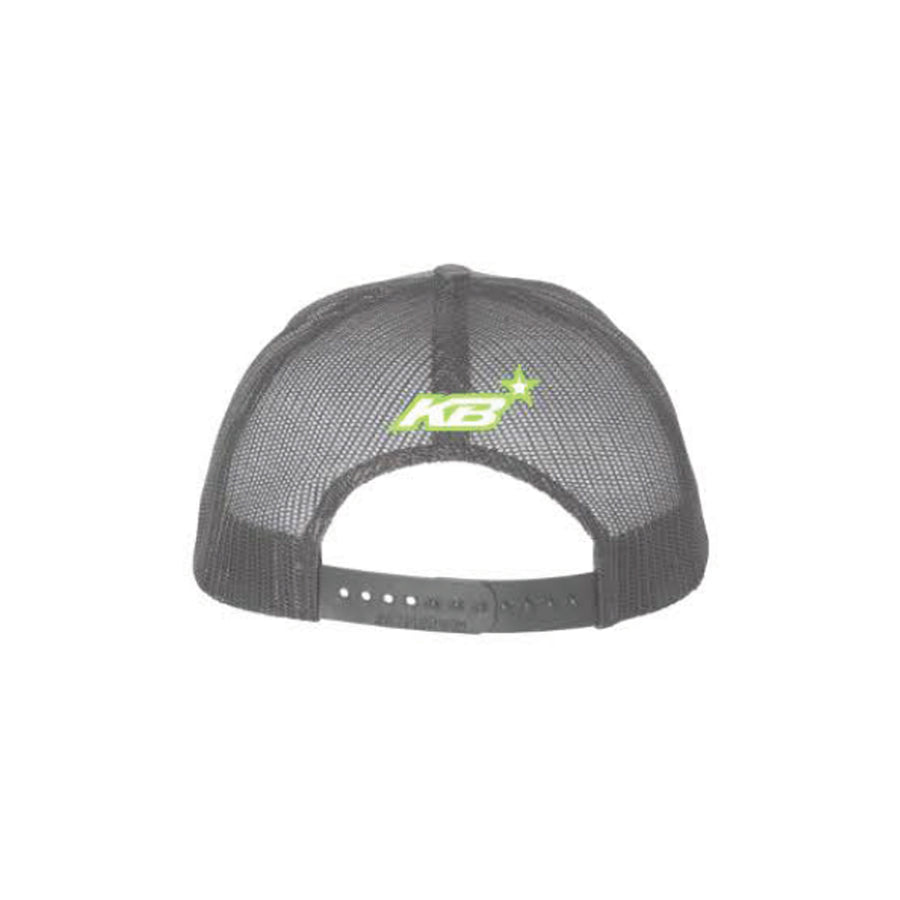 Kurt Busch Monster Claw Grey Snapback Hat - kurtbusch
