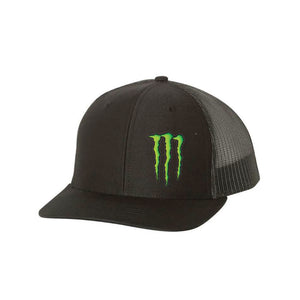 Kurt Busch Small Claw Black Snapback Hat - kurtbusch