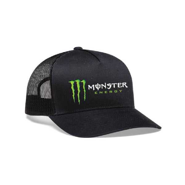 Kurt Busch Monster Energy Black Snapback Hat - kurtbusch