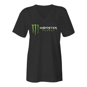 Kurt Busch Monster Womens V-Neck Tee Shirt - kurtbusch