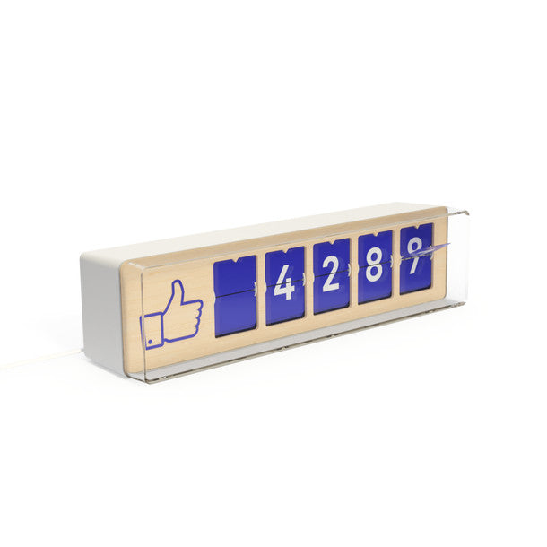 Real Time Facebook Counter