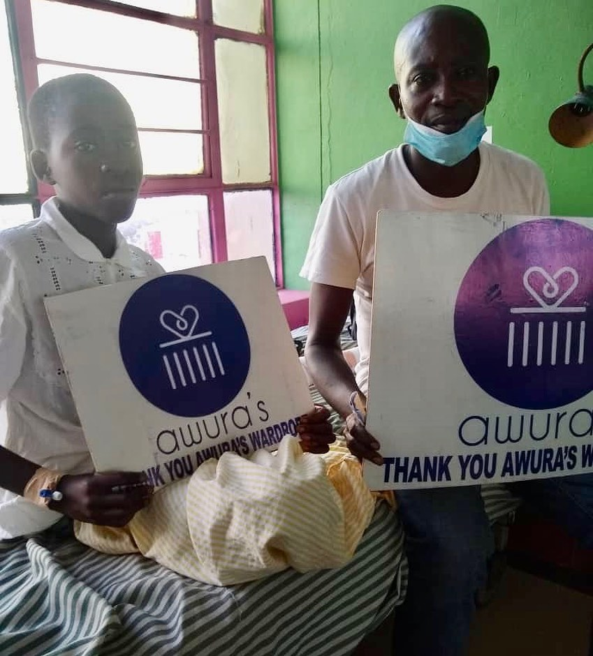 Awura's Children Foundation helped Mavis pay her hospital bills
