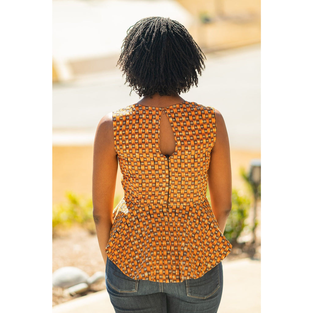Abena Sleeveless Top
