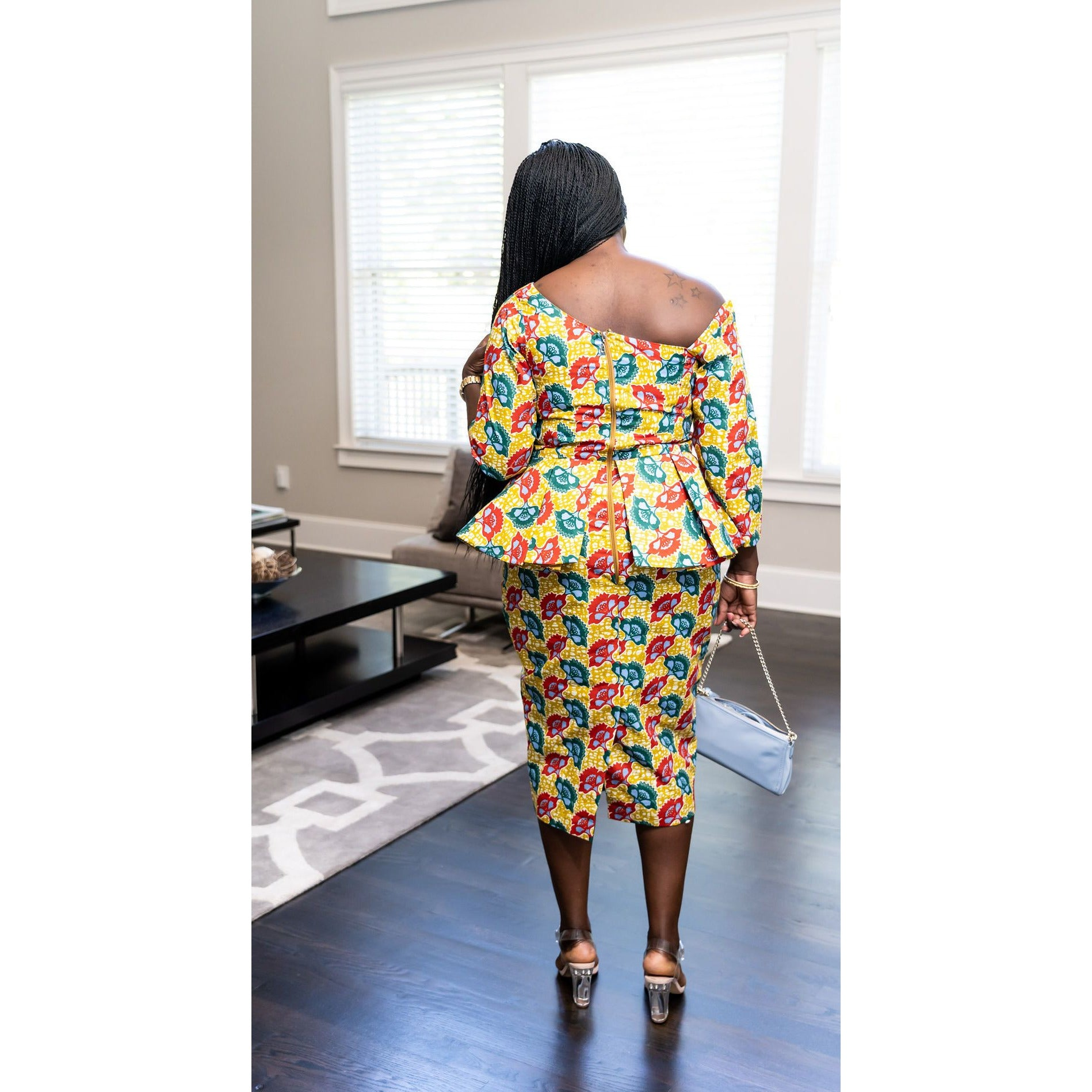 "The ""Abena Oti"" dress"