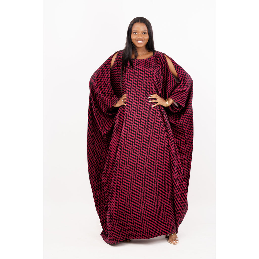 Slit Sleeves Luxury Handmade Kaftan (One size fits all)