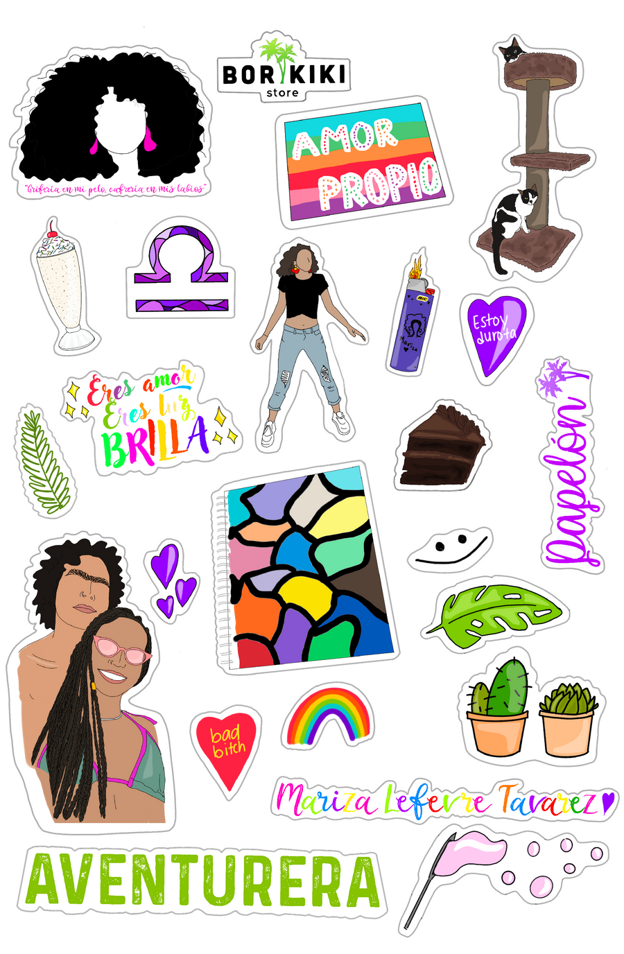 Custom Sticker Sheet ($60)