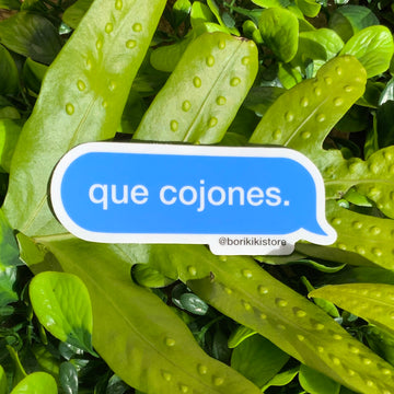 Que Cojones - Text Bubble