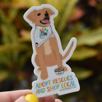 Adopt Rescues & Shop Local