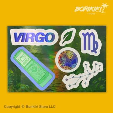 Virgo - Sticker Sheet