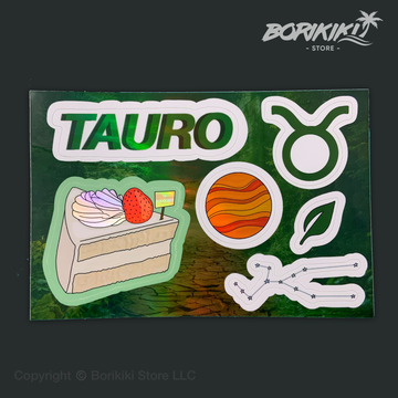 Tauro - Sticker Sheet