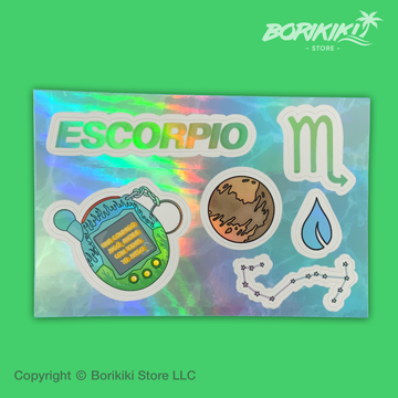 Escorpio  - Sticker Sheet