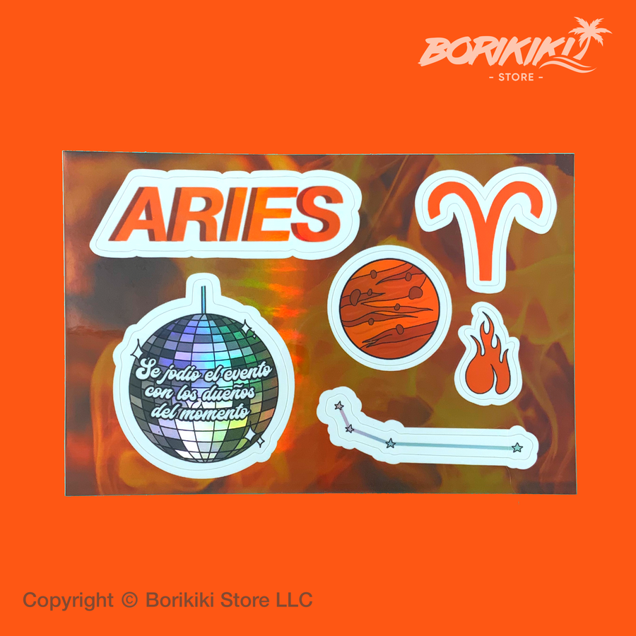 Aries - Sticker Sheet