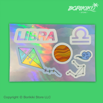 Libra - Sticker Sheet