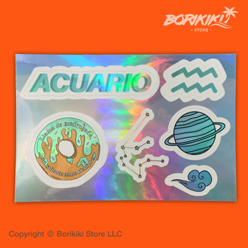 Acuario - Sticker Sheet