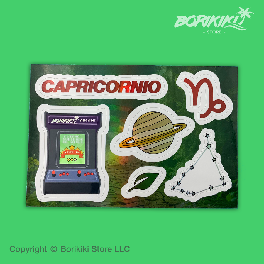 Capricornio - Sticker Sheet