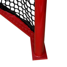 "Load image into Gallery viewer, Deluxe Box Lacrosse Goal 4' X 4'6"" - Predator Sports"