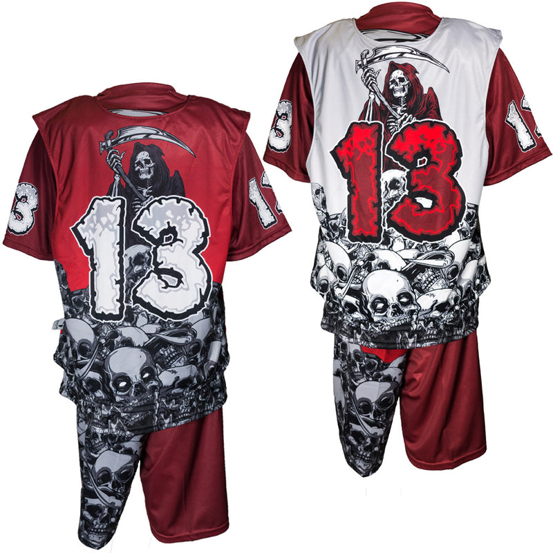 Sleeveless Lacrosse Uniform (Dye-Sublimated) - Predator Sports