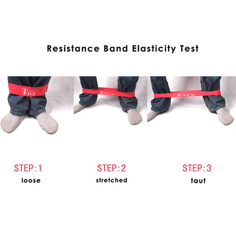 Yoga Pilates Exercise Resistance Rubber Bands Fitness Stretch Loop rope