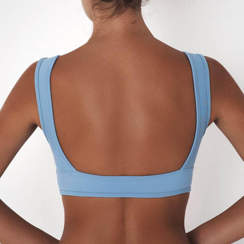 Women's Summer Sleeveless Sports Crop fitness bra