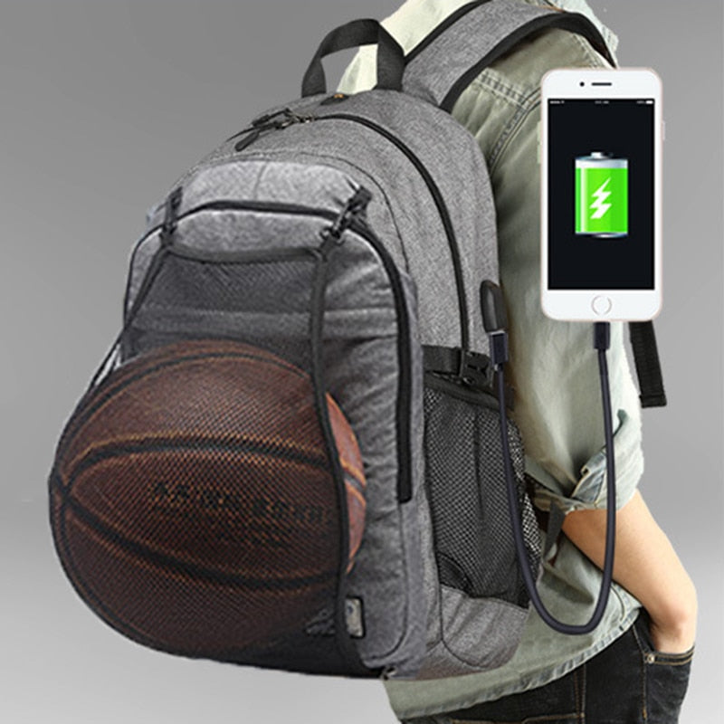 Sport Bag Backpack Men Basketball Travel For Soccer  Laptop Mountaineering